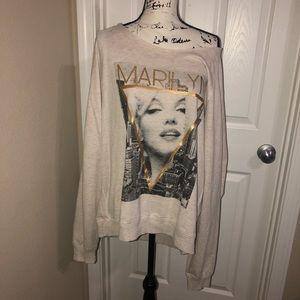 Tops - Marilyn Monroe Plus Size Sweater